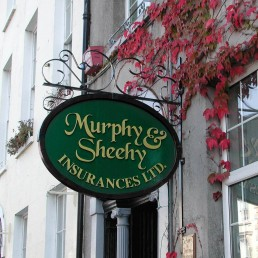 Murphy Sheehy Insurances - Projecting Sign