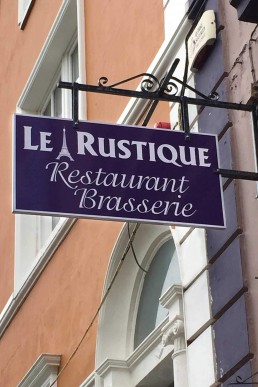 Le Rustique Restaurant - Projecting Sign