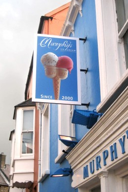 Murphy's Ice Cream - Projecting Sign