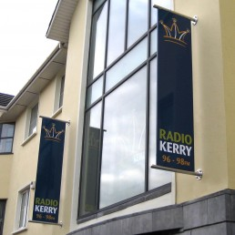 Radio Kerry - Projecting Sign