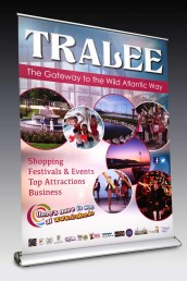Wild Atlantic Way - Pull Up Banner Stand