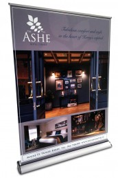 The Ashe Hotel - Pull Up Banner Stand
