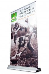 Listowel Rugby Club - Pull Up Banner Stand