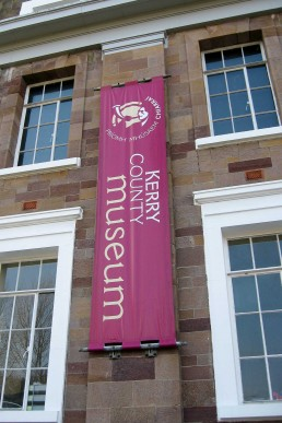 Kerry County Museum - Bespoke PVC banner