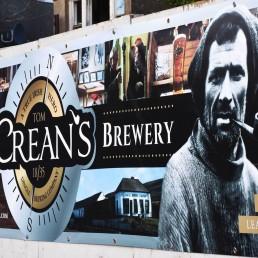 Tom Crean's Brewery- PVC Banner