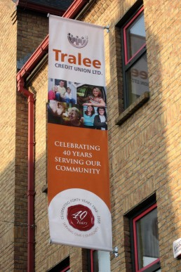 Tralee Credit Union - PVC Banner