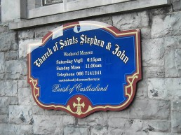 Church of Saints Stephen and John - Castleisland - Acrylic Wall Mounted Plate