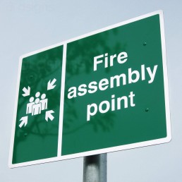 Fire Assembly Point - Aluminium Sign