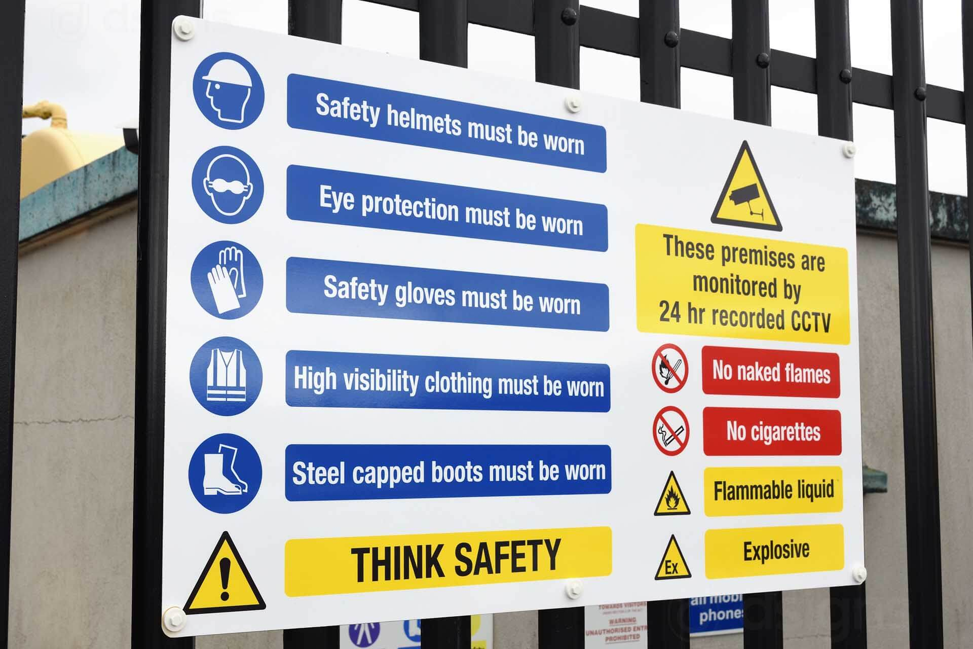 How To Install Safety Signs To Your Advantage?