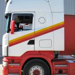 Daly Transport - Truck Stripes