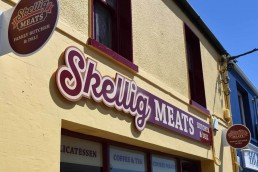 Skellig Meats Butchers - Shopfront