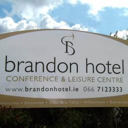 Brandon Hotel - Free Standing Signage