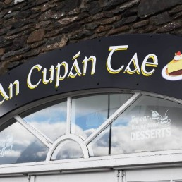 An Cupan Tae - Exterior Wall Signage
