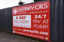 Geaney Oils - Depot Signage
