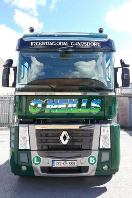 O'Neills International Transport - Truck Graphics