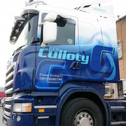 Ger Culloty - Scania R420 - Full Wrap