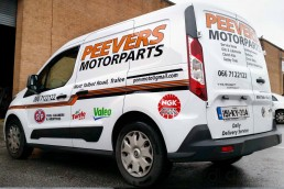 Peevers Motorparts - Vinyl Vehicle Graphics