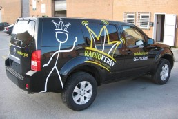 Radio Kerry - Vehicle Livery