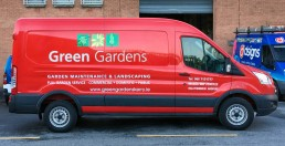Green Gardens - Vehicle Signage