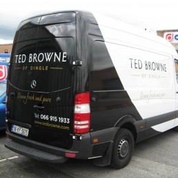 Ted Browne of Dingle - Vinyl Graphics