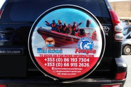 Dingle Sea Safari - Wheelcover Graphics