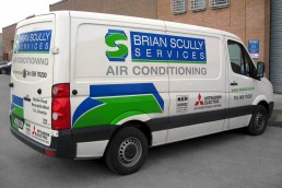 Brian Scully Services - Vinyl Vehicle Graphics