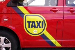 Taxi Branding - Door Graphics