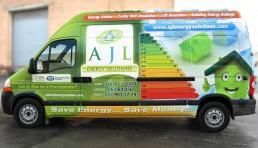AJL Energy Solutions - Vehicle Wrap