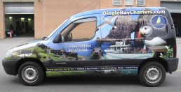 Dingle Bay Charters - Vehicle Wrap