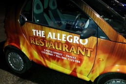 Allegro Restaurant - Full Vehicle Wrap