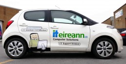 IT Eireann - Vehicle Livery