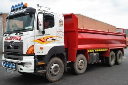O Mahoney Quarries - Truck Stripes and Livery