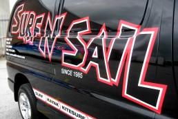 Surf N Sail - Vehicle Signage