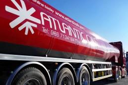 Atlantic Oils - Tanker Signage
