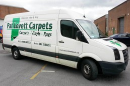 Pat Lovett Carpets - Vehicle Livery