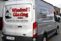 Windmill Glazing - Vehicle Signage