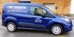 Pat Hanafin - Vinyl Vehicle Signage