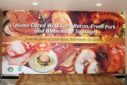 Twomey Butchers - Full Colour Wall Graphics
