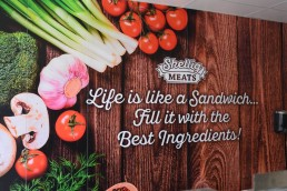 Skellig Meats Butchers - Wall Mural