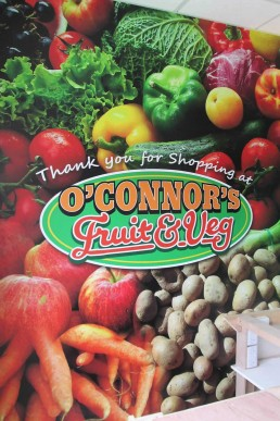 O'Connors Fruit & Veg - Full Colour Wall Graphics