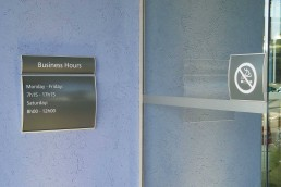 Wall Mounted Informational Panels
