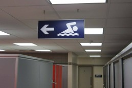 Killarney Sports and Leisure - Suspended Signage