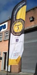 Tralee Triathlon Club - Feather Flag
