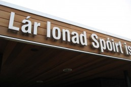 Killarney Sport & Leisure Centre - Illuminated Channel Lettering