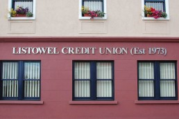 Listowel Credit Union - Stainless Steel Channel Lettering