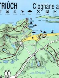 Cloghane and Brandon - Map Design