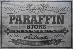 Paraffin - Logo Generation and Graphic Design