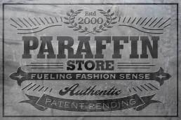 Paraffin - Logo Generation and Graphic Design