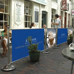 Cafe Barrier System