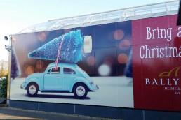 Ballyseedy Garden Centre - Christmas Window Graphics